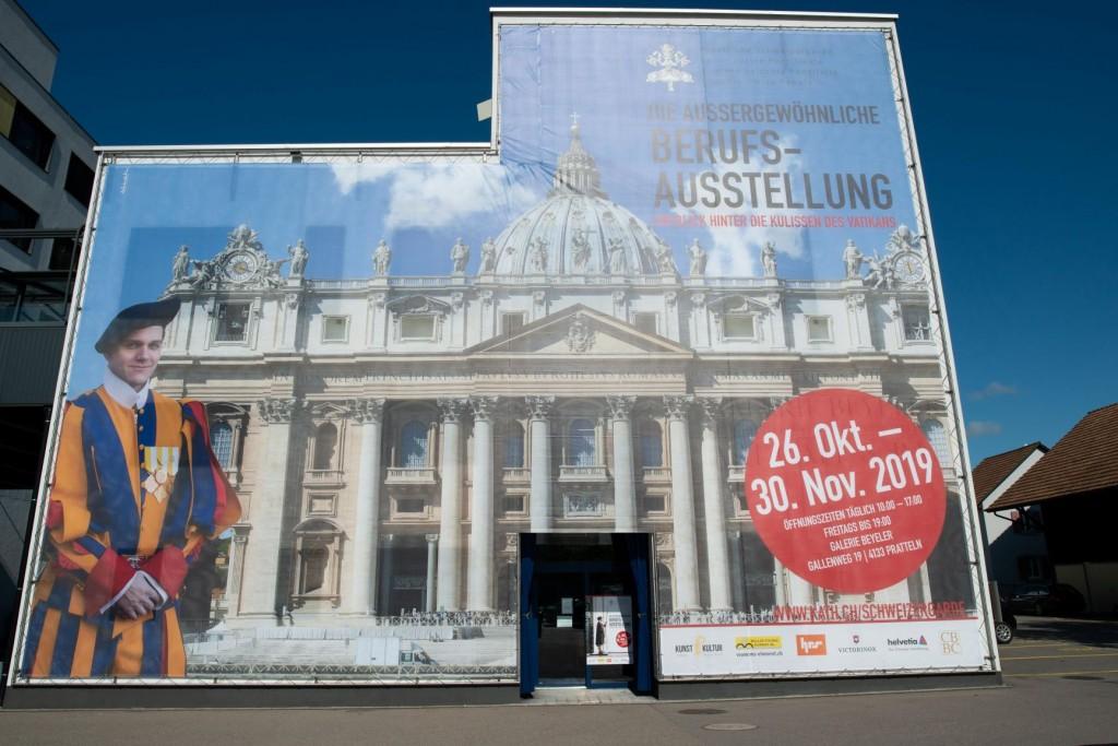 Exklusive Einblicke in die Berufsausstellung Päpstliche Schweizergarde